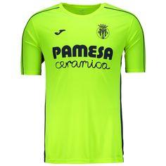 Camisa Joma Villarreal Treino 2017 Amarela Somente na FutFanatics você compra  agora Camisa Joma Villarreal Treino 8154ce81c4e50
