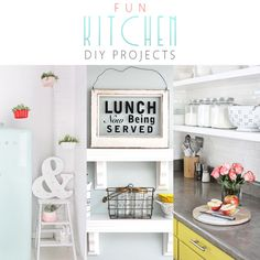Fun Kitchen DIY Projects - The Cottage Market