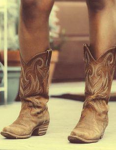 Cowgirl boots on YWS style spread in Savannah, Georgia. *DURANGO BOOTS*