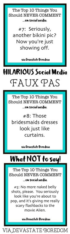 um, I have TOTALLY thought some of these before.. too funny! Hilarious social…