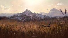 City in the Lowlands by Nele-Diel