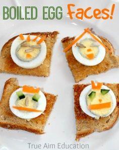 boiled egg snack for kids