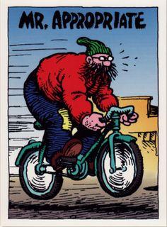 Mr. Appropriate by Robert Crumb (underground comics)