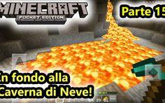 Minecraft PE - In fondo alla miniera immensa! Ecco la continuazione del precedente video in cui abbiamo intrapreso l'esplorazione di una gigantesca caverna di neve. Siamo giunti in profondità dove c'è tantissima lava, una miniera abbandonata e t #minecraft #minecraftpe #craft #android