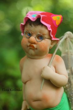 Clay Baby, Felt Baby, Ugly Dolls, Cute Dolls, Cute Miss You, Newborn Baby Dolls, Baby Fairy, Realistic Dolls, Polymer Clay Dolls
