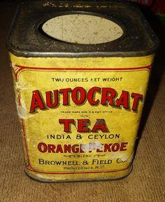 Autocrat Tea