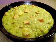 schnelle vegane Erbsensuppe - vegane Rezepte auf Laubfresser