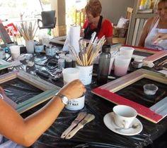Introduction to Chalk Paint - Workshop Woman Painting, Chalk Paint, Restoration, Workshop, Atelier, Work Shop Garage