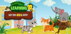 #MobileAppsandGamesSourcecode Grab this limited time OFFER on #Sourcecode to make your own preschool #LearningGame with an UP TO 85% DISCOUNT price & start #Earning today.