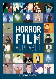 Horror Alphabet @Sheryl Leone