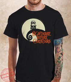 c747658ef66 Minion Nightmare Before Christmas Parody Men s T-Shirts