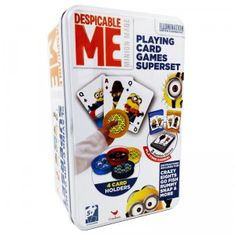 Despicable Me Playing Card Games Super Set