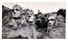 Mount Rushmore Under Construction   ... Rushmore Construction, Mount Rushmore…