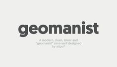 #function #design #advertising #identity #source #pinterest #online #designer #atipostudio #name #geomanist #description #chunky #bold #varyingweights #smooth
