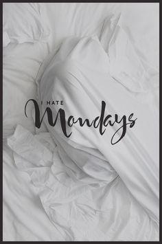 Odio los Lunes - I hate mondays
