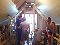 High Street Market: A Plank Ceiling  For the attic bedroom