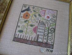 Heart in the Garden de Ewe & Eye & Friends punto de cruz cross stitch point de croix