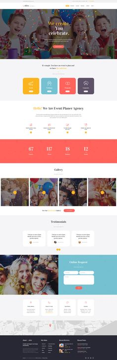 Unica is a WordPress theme with a festive and elegant design made for any professional event management website that can be easily customized by every user.