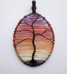 Sunset Tree.  Very cool.