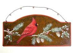 Winter Cardinal Sign Pattern – Cupboard Distributing