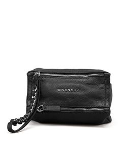 Pandora Sugar Wristlet Bag, Black by Givenchy at Bergdorf Goodman.