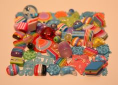 from my personal resin bead collection