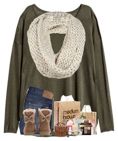 2k! tysm! contest? rtd by flowers8989 on Polyvore featuring polyvore fashion style H&M Hollister Co. UGG IMoshion Chanel Accessorize AllSaints Kate Spade Bobbi Brown Cosmetics Forever 21 Maybelline Essie clothing