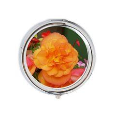 Orange Peony Round Pill Box on CafePress.com Peony, Orange, Vegetables, Box, Snare Drum, Peonies, Vegetable Recipes, Veggies