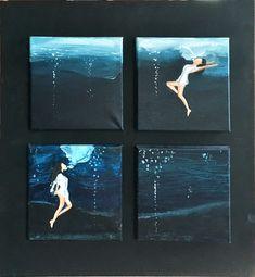 WINGS OF AIR  #art #blue #water #ocean #wings of #air