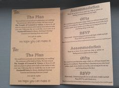 Totally bespoke & personal - Kraft Invitation Printing for every event. All eco, looks great, feels fabulous. Bespoke Wedding Invitations, Wrapping, Printer, How To Plan, Feelings, Board, Products, Printers, Gadget