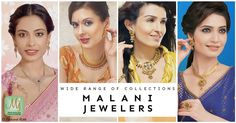 A little bit of variety is always nice! Find mesmerizing jewelry designs only at Malani Jewelers! #MalaniJewelers #22k #GoldJewelry #EkKhubsooratRishta