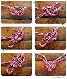 How to make a Celtic Heart Knot Necklace