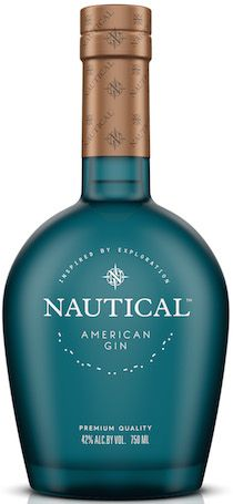 "Nautical Gin is ""inspired by adventure."" Hailing from New Hampshire, Vertical Spirits' adventuresome gin sources botanicals from nearly every continent. Alcohol Bottles, Liquor Bottles, Vodka Drinks, Alcoholic Drinks, Premium Gin, Spirit Drink, Best Gin, Gin Brands, Liqueur"