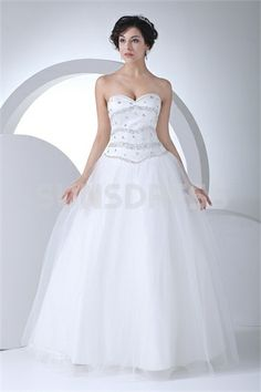 Destination A-Line Sweetheart Floor-length Wedding Dress    sunsdress.com #sunsdress newcelebritydress.com  #newcelebritydresses