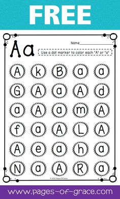 Are you looking for some great activities for teaching letter recognition? Help your students master uppercase and lowercase letters with this activity packet. Kids practice identifying letters with 3 engaging worksheets and 2 fun center activities. Great for preschool and kindergarten classrooms and homeschool. My kiddos love learning the alphabet with this packet! This is a free sample from the complete packet. Click on the picture to see more.