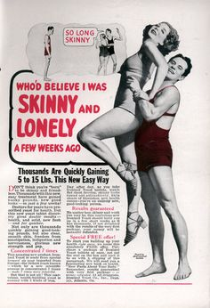 WHOD BELIEVE I WAS SKINNY AND LONELY A FEW WEEKS AGO (Aug, 1935)