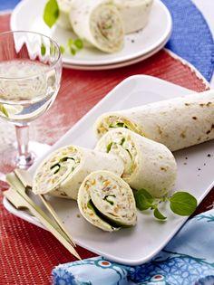 Unser beliebtes Rezept für Thunfisch-Wraps und mehr als 55.000 weitere kostenlose Rezepte auf LECKER.de.