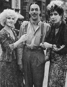 When these suspenders happened on the set of Annie and it was fantastic. | 24 Times Tim Curry Was The Very Most