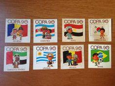 Figurinhas Elma Chips Copa 90