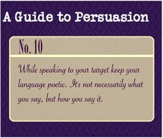 A Guide to Persuasion - body language Guide To Manipulation, The Art Of Manipulation, Writing Help, Writing Prompts, Writing Tips, Essay Writing, A Guide To Deduction, Detective, Art Of Persuasion
