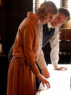 Lady Edith and Mr. Gregson
