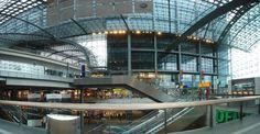 new main train station in Berlin