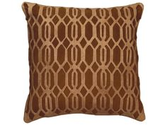 Jamie Young Company Link Chocolate Pillow | PILL18-LINCH