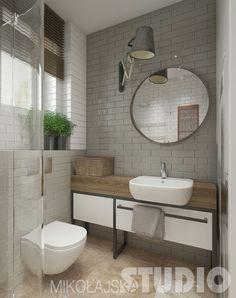 Mała łazienka, to duże wyzwańjie ! jak ją urządzić ? gdzie zmieścić pralkę w małej łazience, wybrać małą wannę czy brodzik z natryskiem i wiele innych pytań, które nurtują posiadaczy małych łazienek. Dzisiaj przedstawiam parę inspirujących pomysłów, które pokazują, jak urządzić pięknie i funkcjonalnie małą łazienkę. Ja jestem zachwycona projektami Studio Mikołajska – stąd gratuluję i kłaniam się nisko  - popatrzcie, jakie to wspaniałe, estetyczne i na topie aranżacje – są wg mnie…