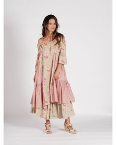 Robe ample à volants - Les Alpilles n°15 Blouse, Bohemian, Style, Fashion, Skirt, Jacket, Spring Summer, Moda, Stylus