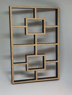 This is a room divider with shelves that are deep enough to place small or decorative items. Window Grill Design Modern, Grill Gate Design, Balcony Grill Design, Steel Gate Design, Balcony Railing Design, Front Gate Design, Window Design, Wrought Iron Wall Art, Wrought Iron Garden Gates