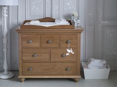 Nestor Six Drawer Chest Of Drawers. From Award winning Bambizi. Traditionally handcrafted in England from the finest solid cherrywood and veneers, the Nestor Dresser exudes quality. Baby Nursery Furniture, Room Furniture Design, Kids Room Furniture, Nursery Room, Kids Bedroom, Bedroom Decor, Wood Dresser, Wood Colors, Chest Of Drawers