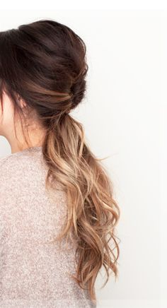I HAVE to ombre my hair ASAP. It's decided.