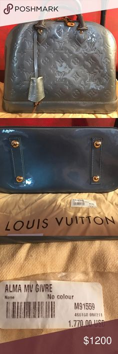 Worn twice in absolute mint condition LV. Worn twice with absolutely no signs of wear last year bag. Pattern leather. Dust bag with the price  attached. Louis Vuitton Bags Satchels