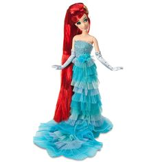 Love this Disney Princess Designer Collection Ariel Doll. I was very lucky to be able to get one! :) Sold out within hours.